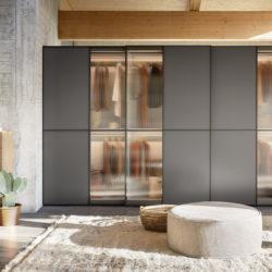гардероб novamobili (3) Layer sliding door