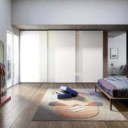 гардероб novamobili (4) Offset sliding door