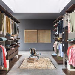 гардероб novamobili (9) Ben Walk-in closets