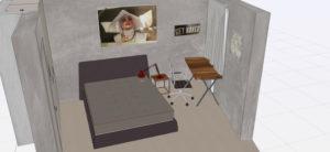 Проект спалня Sytema Nova