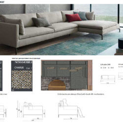 Спецификация мебели Systema Nova 1